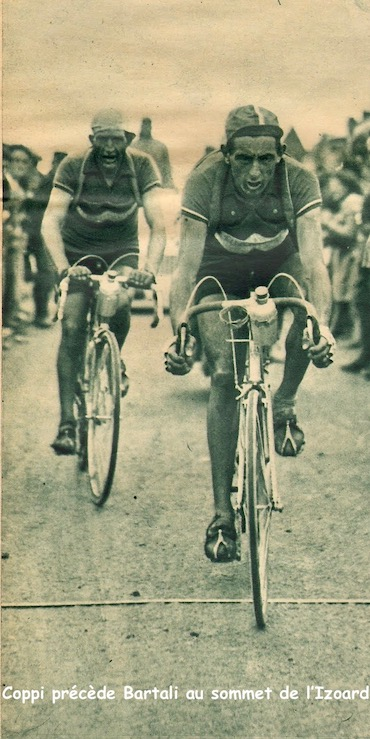 Coppi Bartali sommet de l'Izoard1949-07-20+-+BUT-CLUB+192+-+36th+Tour+de+France+-+033A
