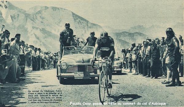 Coppi en tête sommet Aubisque1949-07-15+-+Miroir+Sprint+-+06
