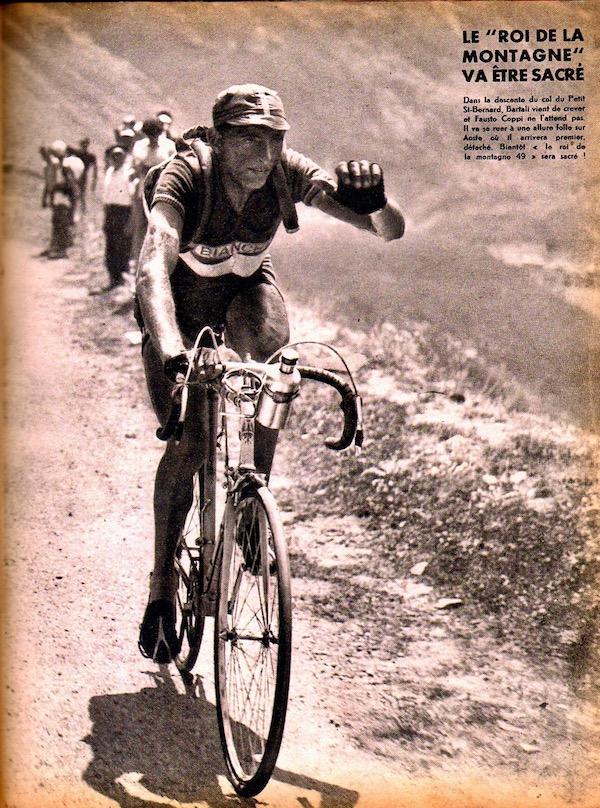 Coppi roi de la montagneBC L'histoire du TOUR 1949 55