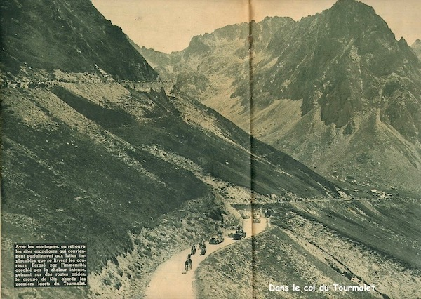 Dans le col du Tourmalet1949-07-13+-+BUT-CLUB+190+-+36th+Tour+de+France+-+007A