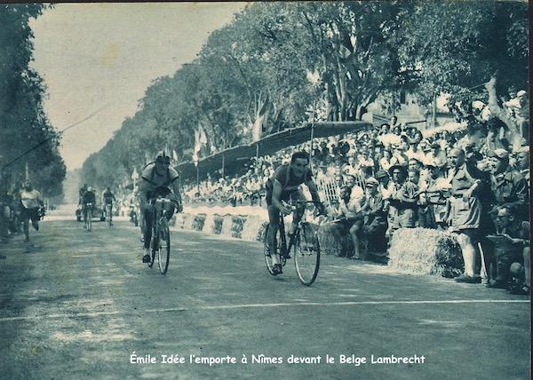 Émile Idée gagne à Nîmes-1949-07-15+-+Miroir+Sprint+-+15