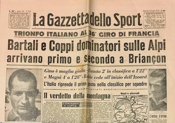 Gazzetta-Dello-Sport-1949-Coppi-Bartali-Dominatori-Alpi