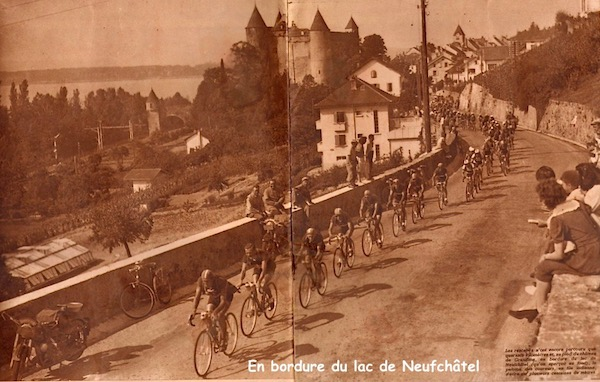 lac de Neufchâtel1949-07-22+-+BUT-CLUB+193+-+36th+Tour+de+France+-+047A
