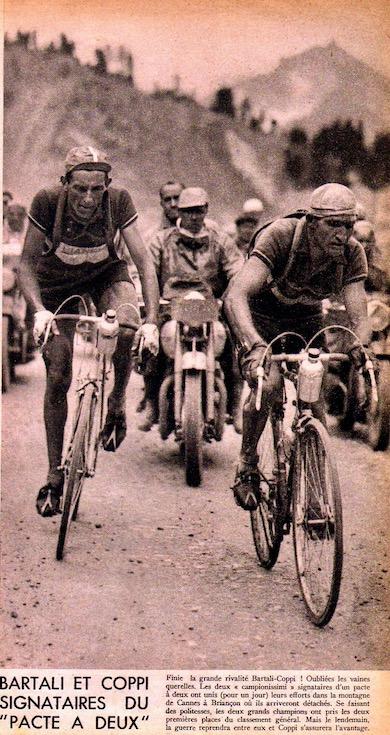 pacte Coppi BartaliBC L'histoire du TOUR 1949 51