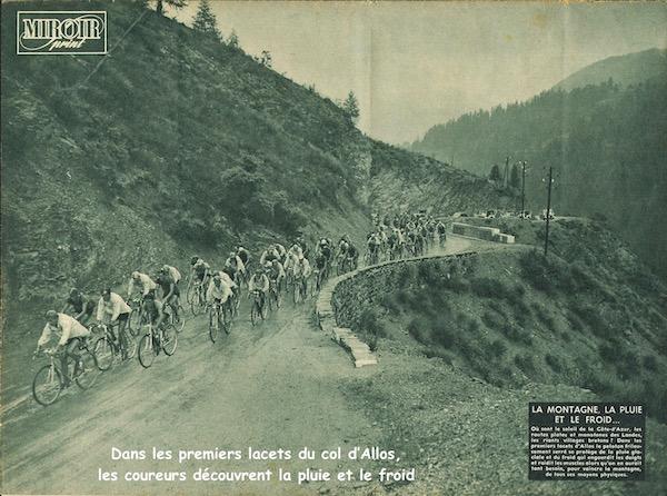 Premiers lacets du col d'Allos1949-07-20+-+Miroir+Sprint+-+16