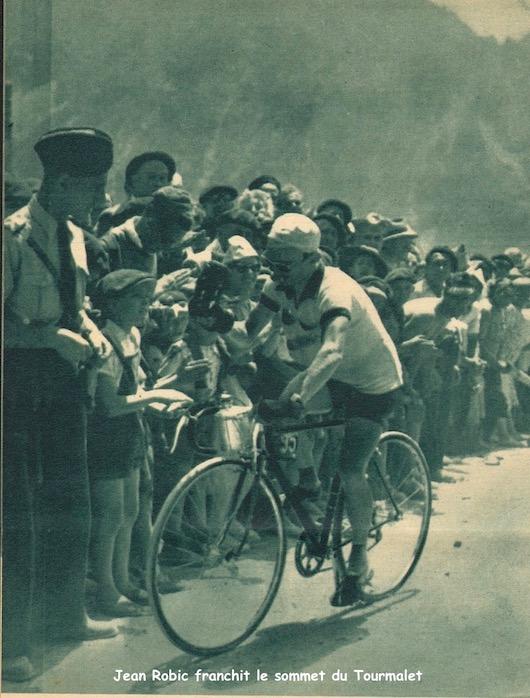 Robic franchit le Tourmalet1949-07-13+-+Miroir+Sprint+-+14