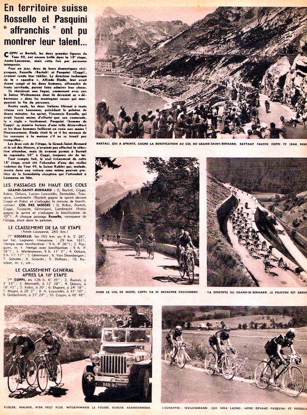 Rossello et PasquiniBC L'histoire du TOUR 1949 58