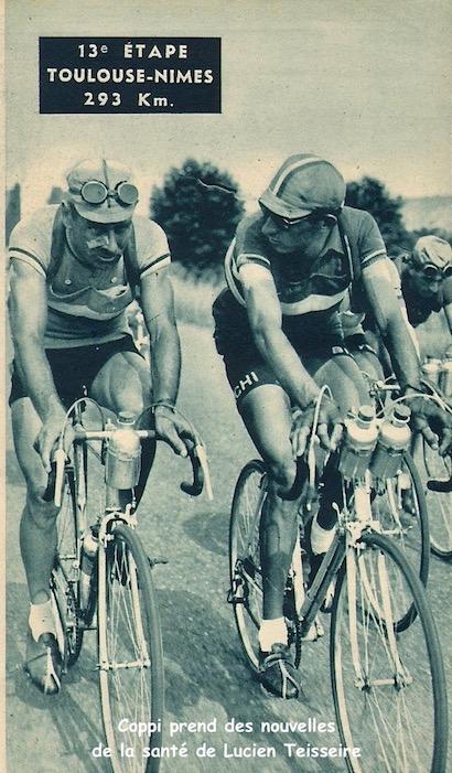 Toulouse-Nîmes teisseire et Coppi1949-07-15+-+Miroir+Sprint+-+10