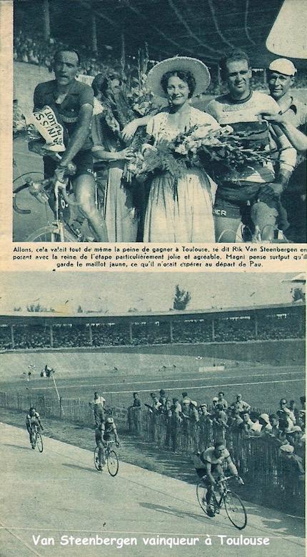 van Steenbergen gagne à Toulouse1949-07-15+-+Miroir+Sprint+-+05