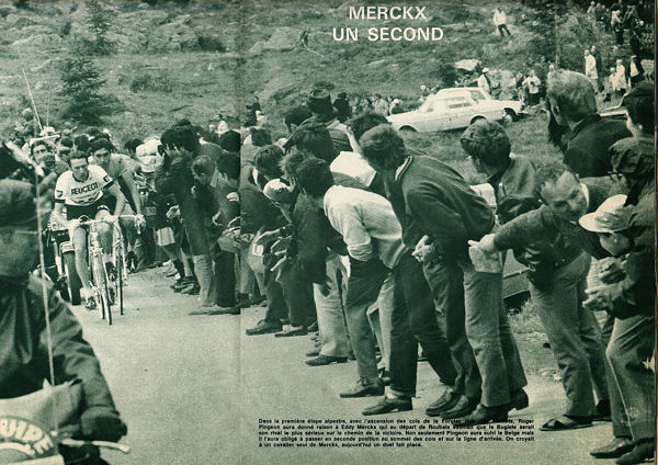 Blog étape Chamonix Pingeon Merckx