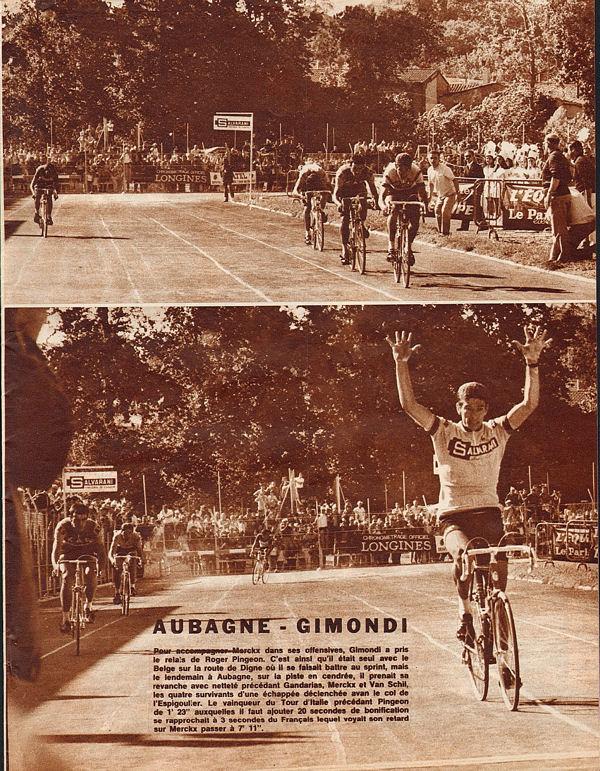 Blog Gimondi gagne à Aubagne
