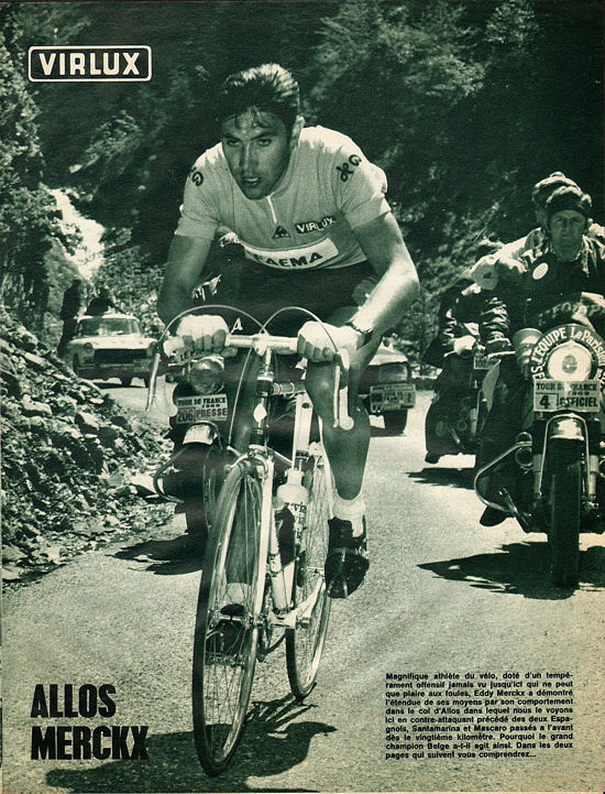 Blog Merckx dans Allos