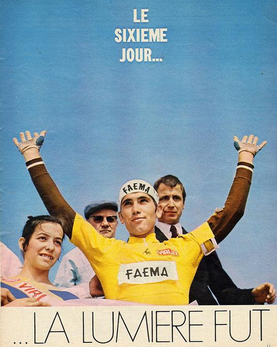 Blog Merckx en jaune au Ballon