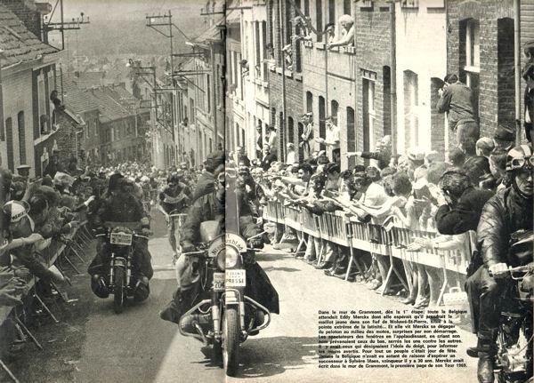Blog Merckx en tete dans mur Grammont 1ere étape