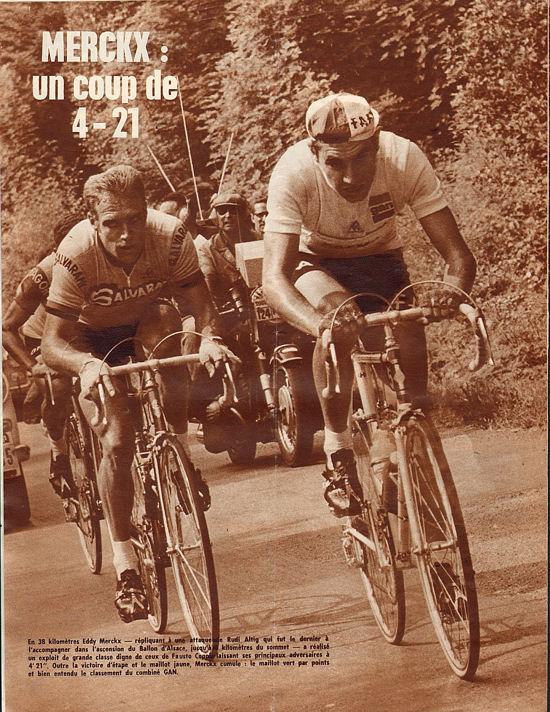 Blog Merckx et Altig au Ballon
