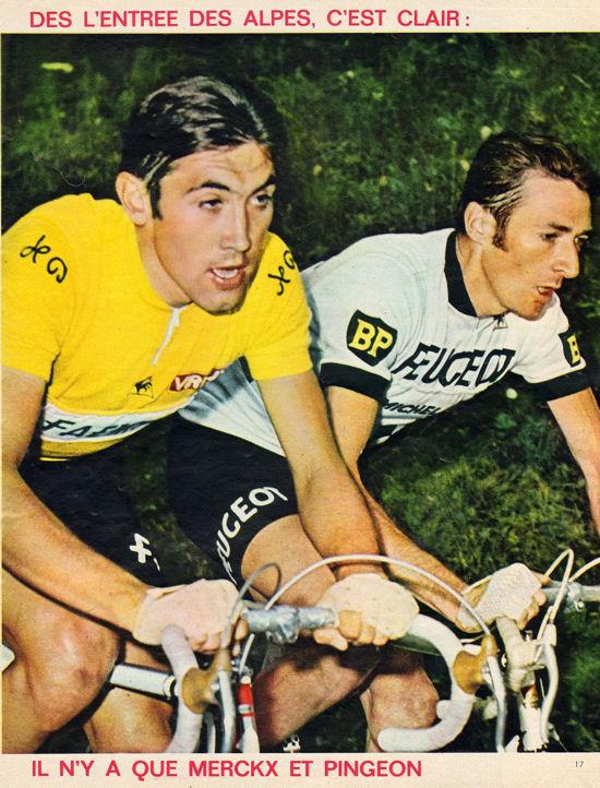 Blog Merckx et Pingeon entrée des Alpes