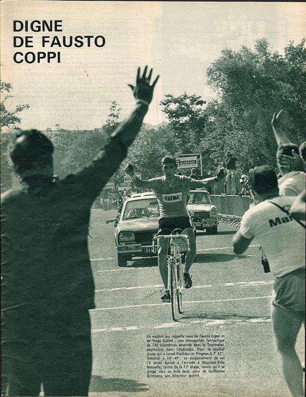Blog Mourenx Merckx à l'arrivée