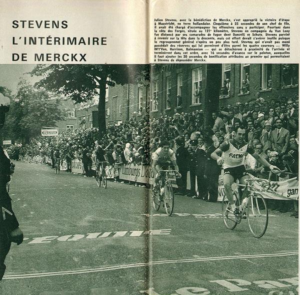 Blog Stevens intérimaire de Merckx