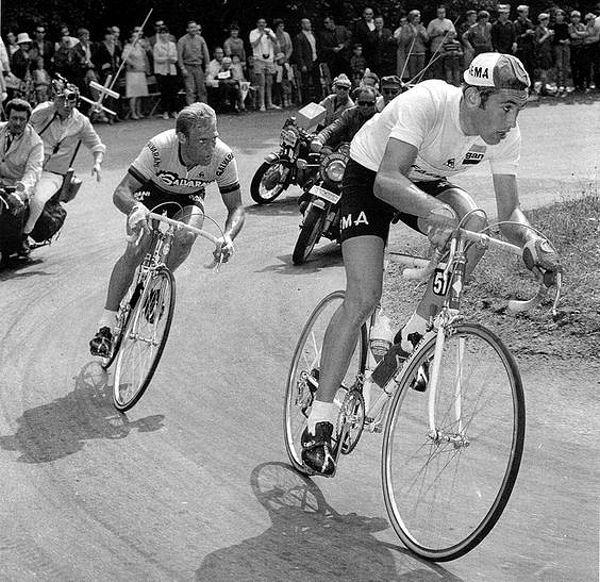 Blog Tour 1969 Merckx et Altig dans Ballon d'Alsace