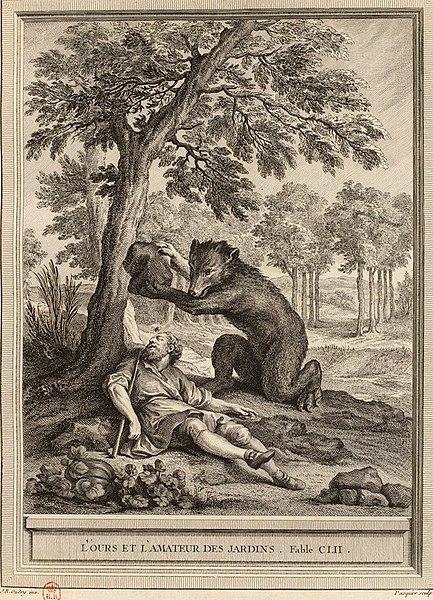 L'ours et l'amateur des jardins1