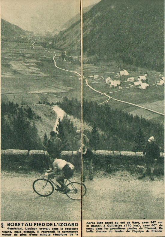 1950-08-04+-+Miroir+Sprint+-+04A Bobet au pied de l'Izoard
