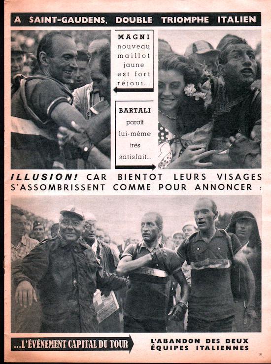 Miroir du TOUR 1950 31.apres  arrivée St-Gaudensjpg