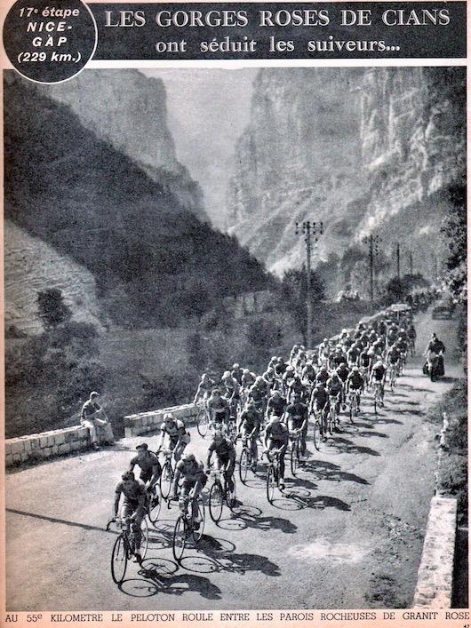 Miroir du TOUR 1950 47 Gorges de Cians
