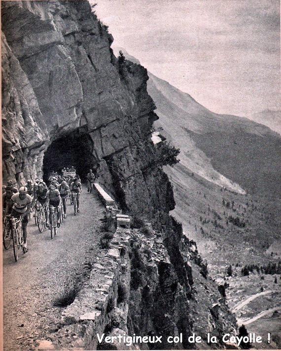 Miroir du TOUR 1950 49 Cayolle