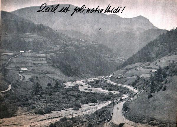 Miroir du TOUR 1950 50 Qu'il est joli notre Midi