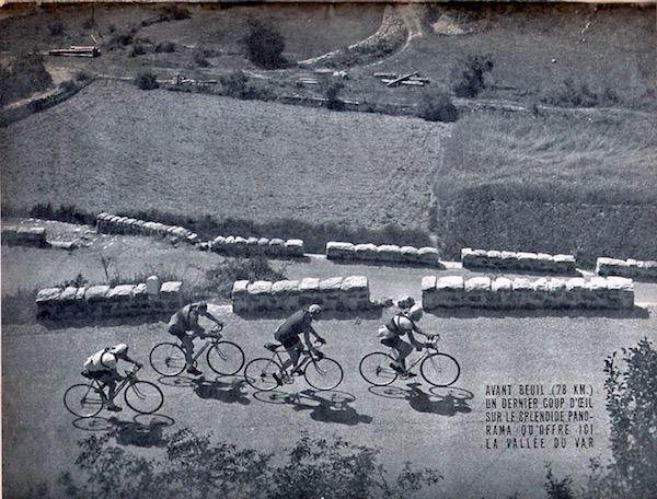 Miroir du TOUR 1950 51 vallée du Var