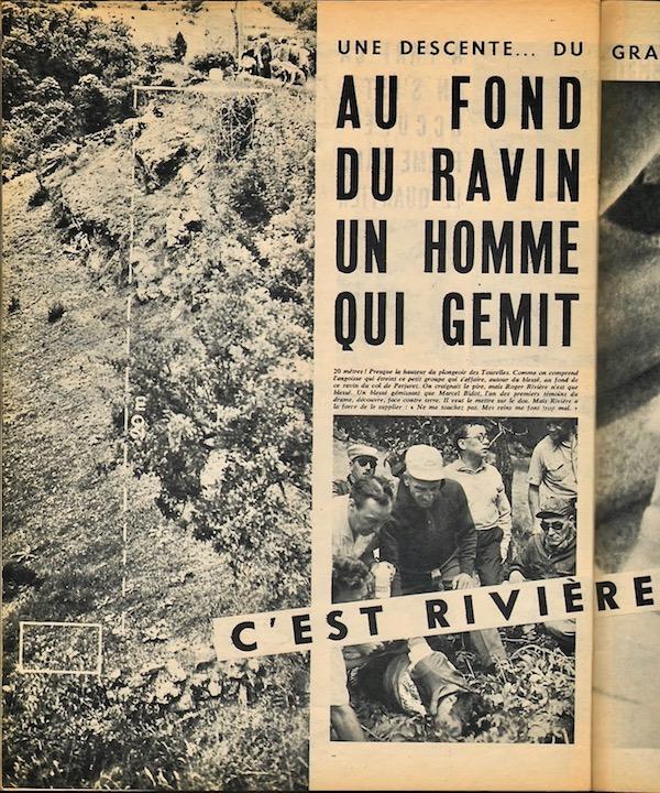 Accident Rivière  ravin MDT