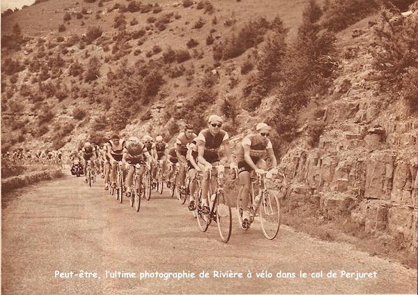 Accident Riviere ultime photo à vélo
