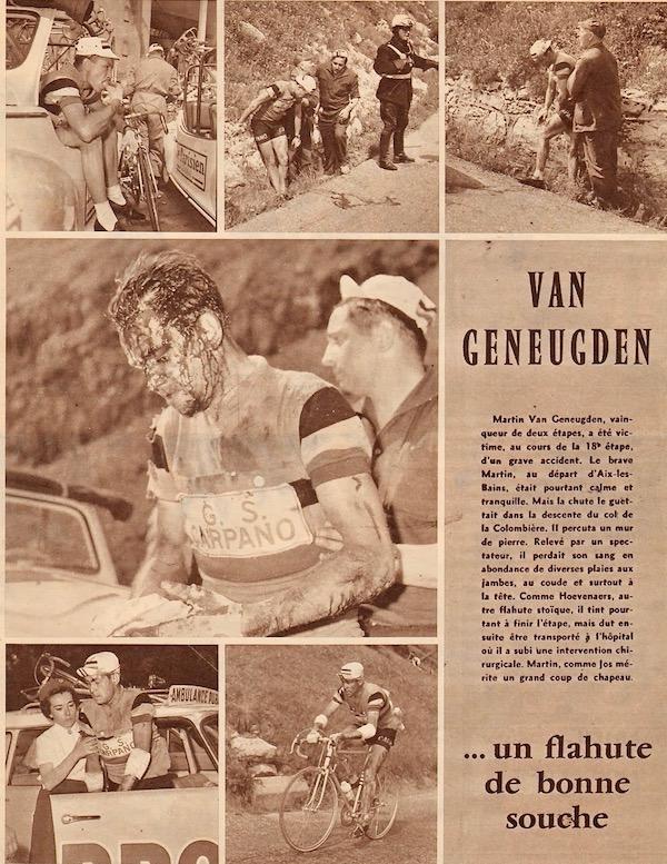 Aix-Thonon Colombiere chute Van Geneugden