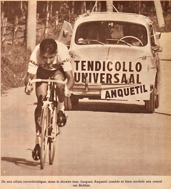 Anquetil à Forli