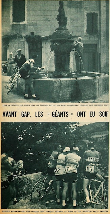 Avignon-Gap fontaines soif MDS