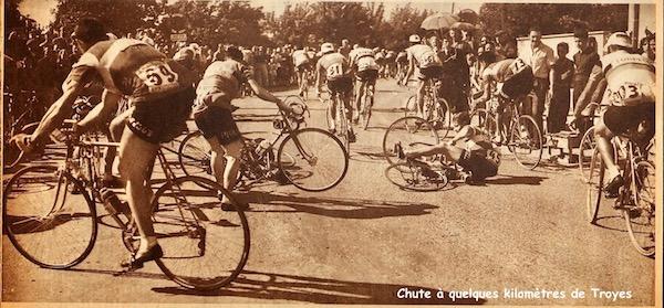 Besançon-Troyes chute avant Troyes MDS