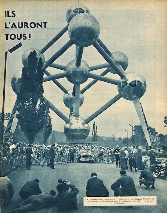Départ Bruxelles atomium