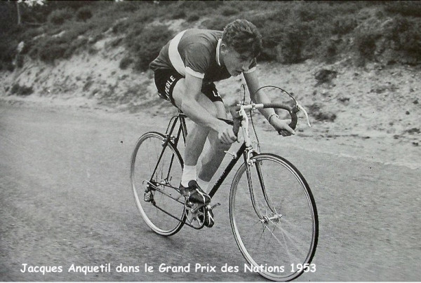 Grand prix des Nations 1953(velo La Perle)