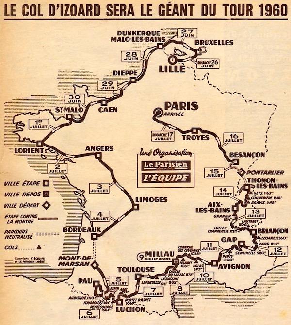 La Carte du Tour