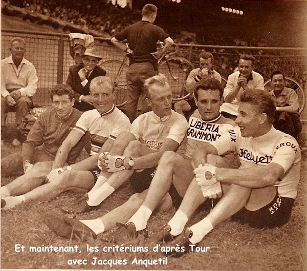 Paris Anquetil criteriums