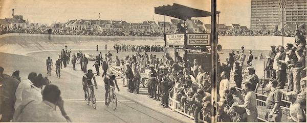 Sprint vélodrome Lorient