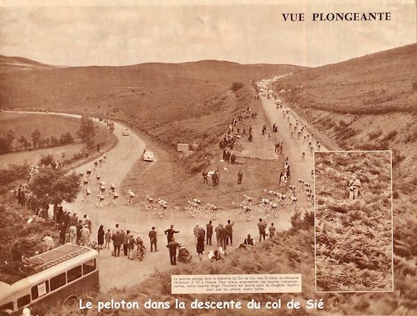 Toulouse-Millau descnte du col de Sié