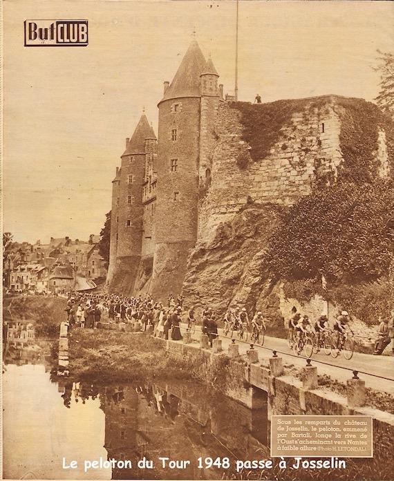 Tour 1948 à Josselin