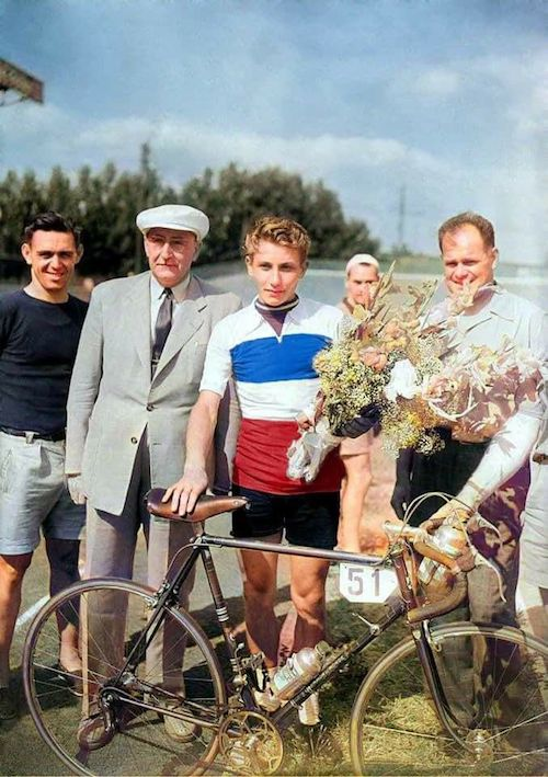 Anquetil champion de France amateur