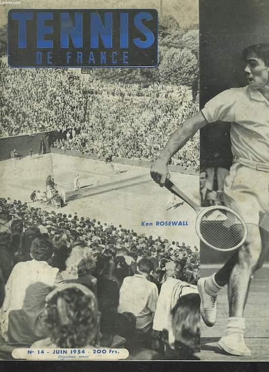 Tennis de France Rosewall
