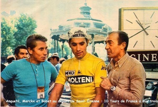 Anquetil Bobet Merckx