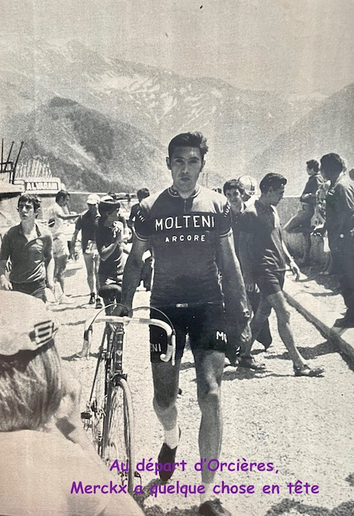 Merckx au départ