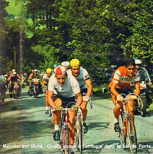 Merckx lâché Col de Porte