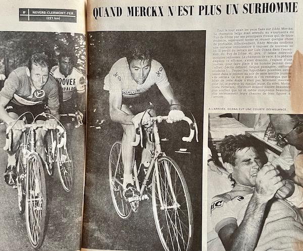 Merckx n'est pas un surhomme