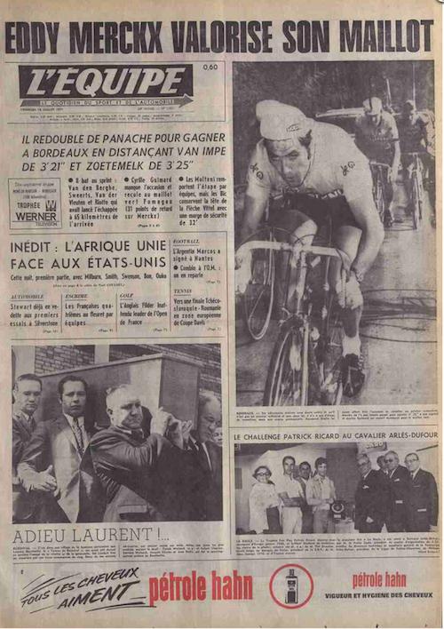 Merckx Une L'Equipe